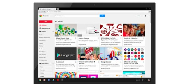 Gérer ses favoris Chrome avec Bookmarks manager